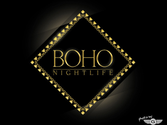 BOHO Nightlife logotipas