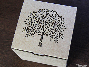 Laser Cutting or Engraving of Paper